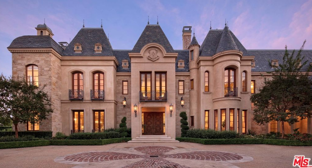 Million French Chateau Beverly Hills California