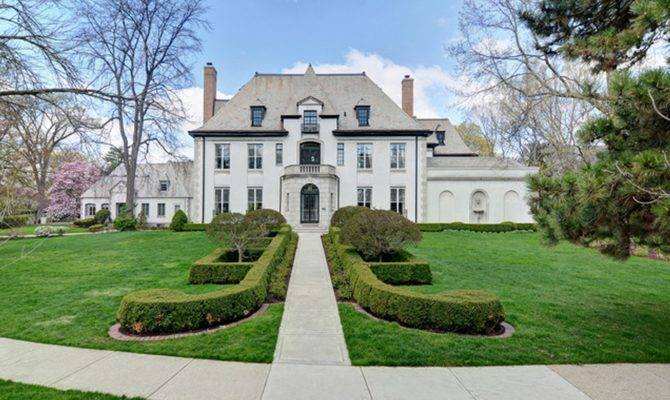Million Historic French Provincial Home Hinsdale