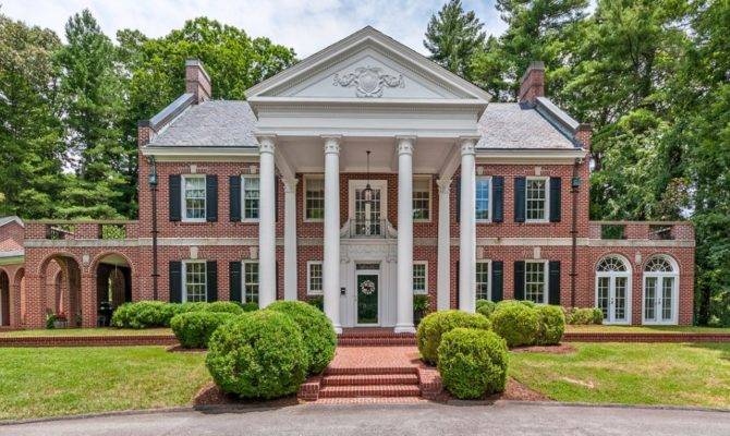 Million Historic Georgian Style Brick Home