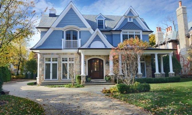 Million Nantucket Style Home Winnetka Homes