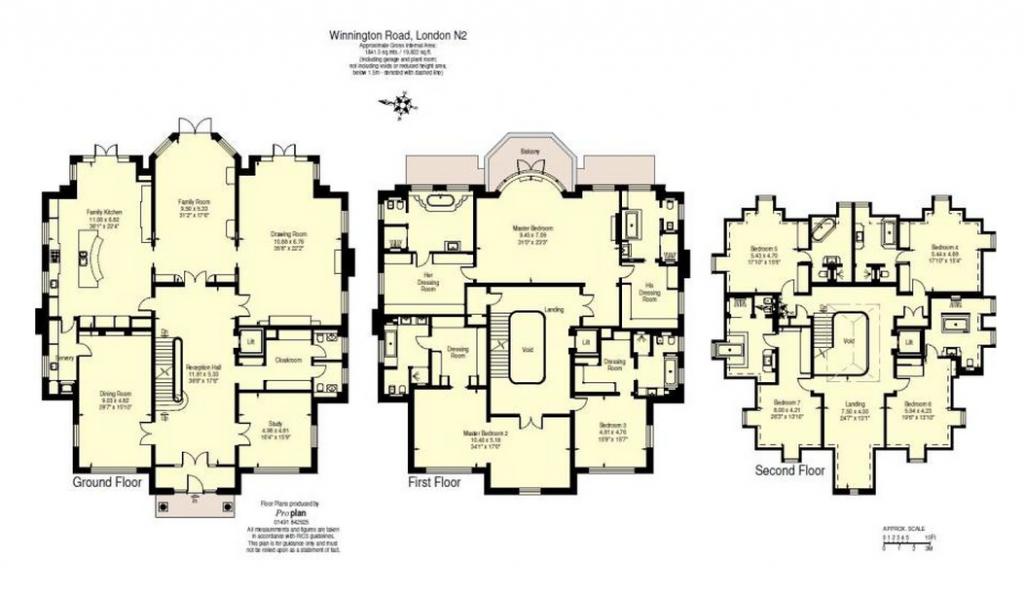 Newly Built Square Foot Brick Mansion