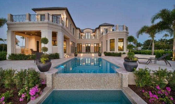 Million Newly Built Waterfront Mansion Naples