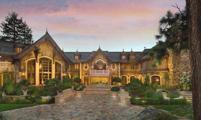 Million Price Cut Tranquility Lake Tahoe Mansion