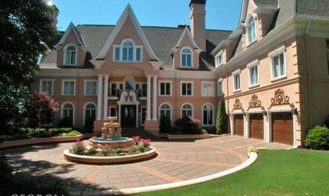 Million Stately Story Lakefront Mansion Sandy