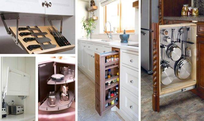 Mind Blowing Hidden Kitchen Storage Solution Must