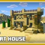 Minecraft Build Desert House Tutorial Easy