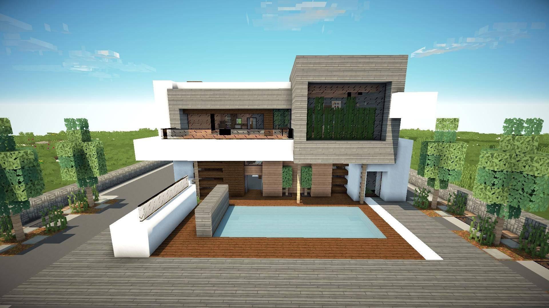 modern house minecraft - HD1920×1080