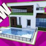 Minecraft Build Small Modern House Tutorial