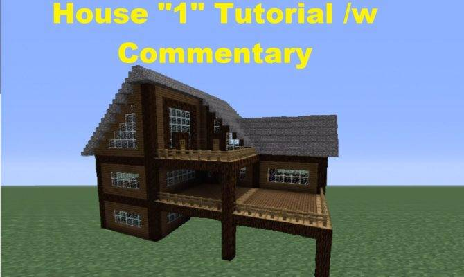 Minecraft Build Spruce Wood House Youtube
