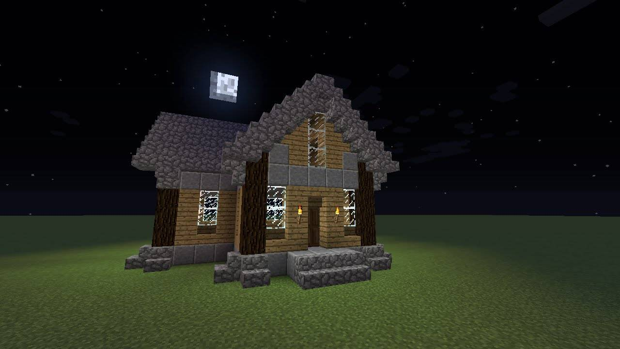 Minecraft Building Tutorial Old Fashion Wood House Youtube House