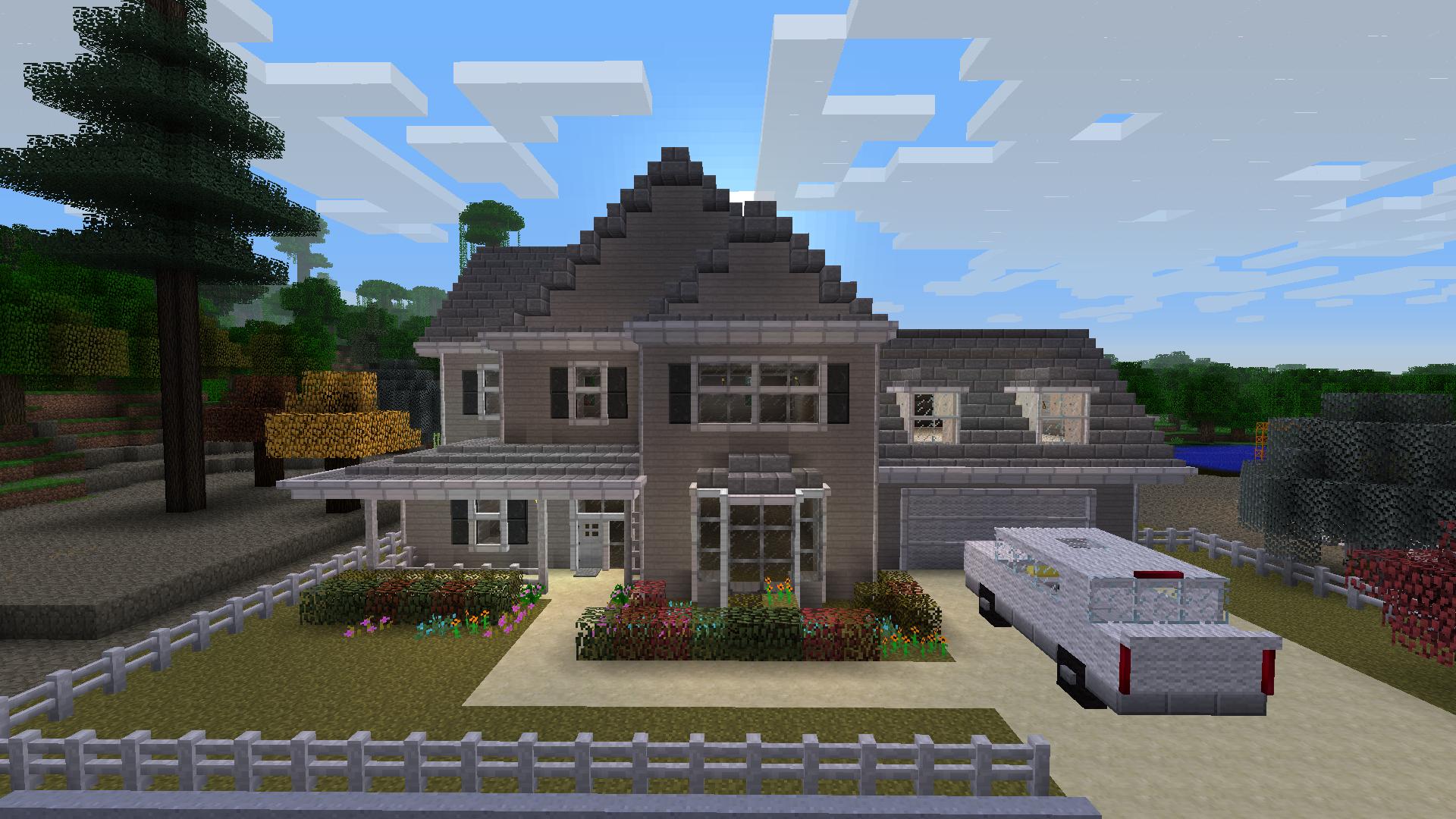 minecraft mansion layout ideas