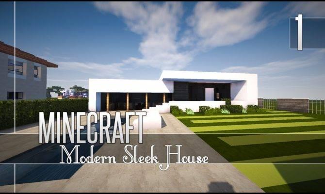Minecraft Let Build Sleek House Youtube