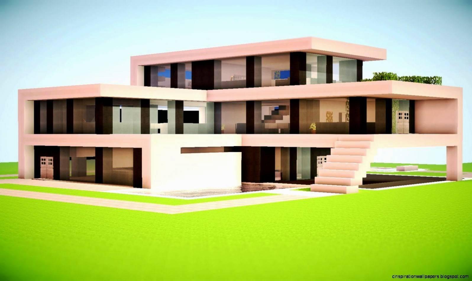 Minecraft Modern House Designs Inspiration House Plans 139434