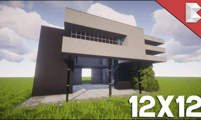 Minecraft Modern House Tutorial Easy Follow