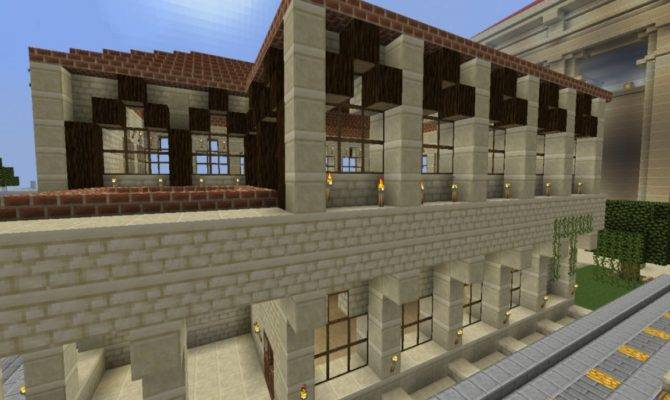 Minecraft Roman Style House Cathedral