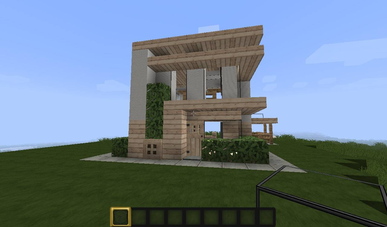 Minecraft Small Modern House Project House Plans 18234