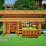 Minecraft Starter House Tutorial Build