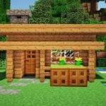 Minecraft Starter House Tutorial Build