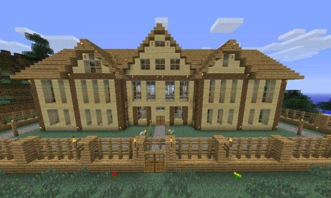 Minecraft Wooden House Youtube