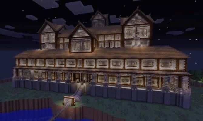 Minecraft Xbox Massive Mansion Design