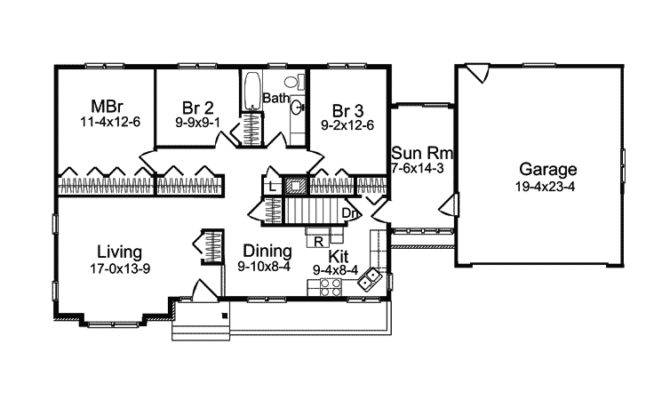 Mineo Ferry New England Home Plan House Plans More
