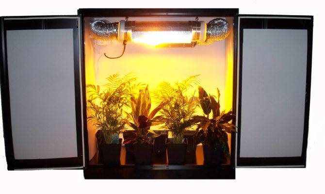 Mini Stealth Grow Cabinet