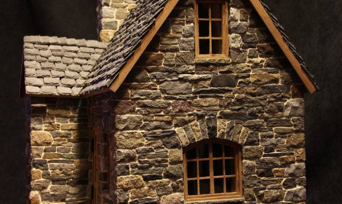 Miniature Stone Cottage Pedro Davila Flickr