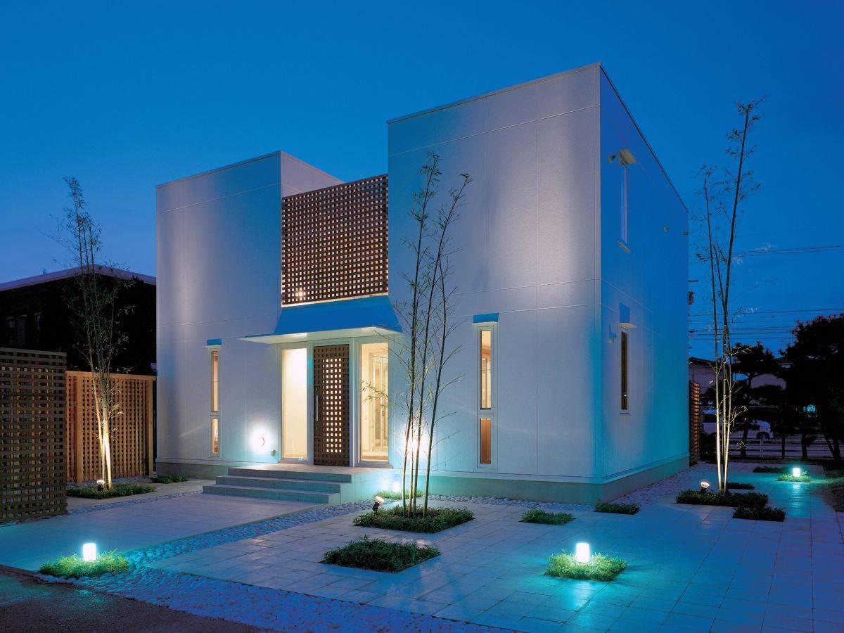 Minimalist Home Exterior Design House Plans 58014