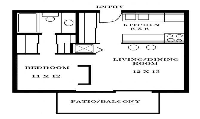 Minimalist House Plans Apartmen First Floor Plan Design