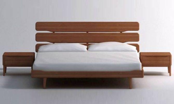 Minimalist Modern Floating Bed Designs