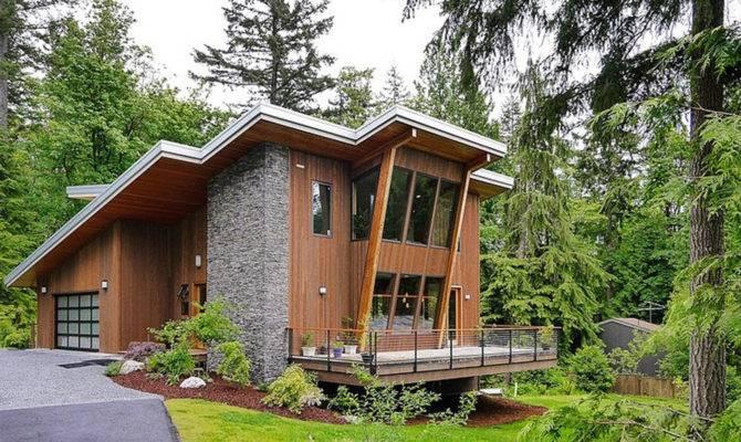Minimalist Nice Design Modern Cabin Has