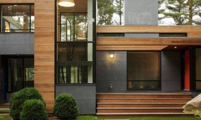 Minimalist Wooden House Design Homes Floor Plans