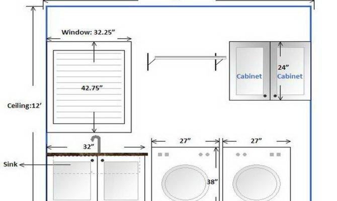 Miscellaneous Bathroom Laundry Room Layout Ideas