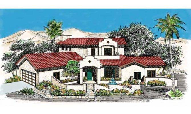 Mission House Plan Square Feet Bedrooms Dream