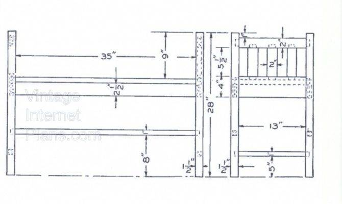 Mission Style Hall Window Seat Plans Build