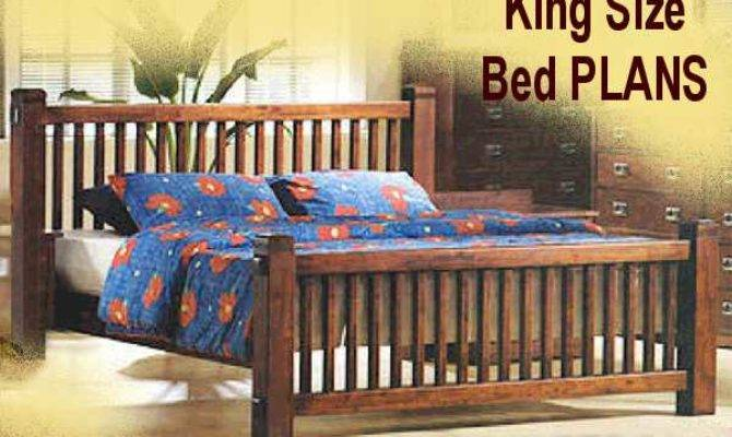 Mission Style King Bed Plans