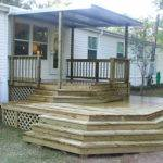 Mobile Home Back Porch Ideas Homes