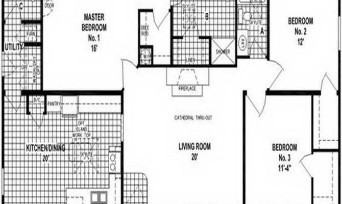 Mobile Home Floor Plans Double Wide Bedroom