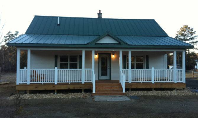Mobile Home Front Porch Designed Small Spacious Decoration