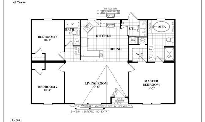 Mobile Homes Floor Plans Southern Energy