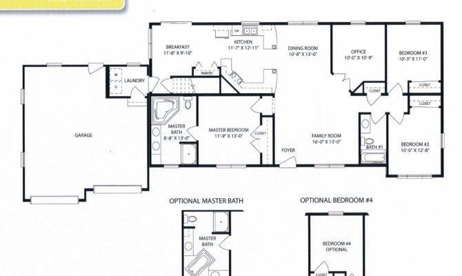 Mobile Homes Open Floor Plans