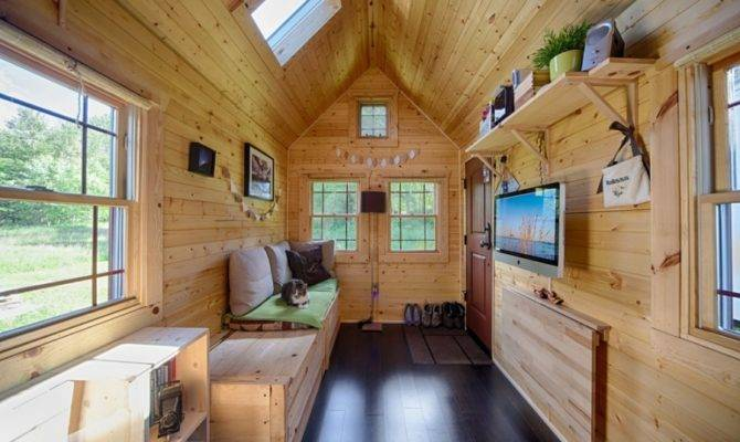 Mobile Tiny Tack House Entirely Built Hand