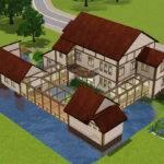 Mod Sims Akane House Japanese Inaka