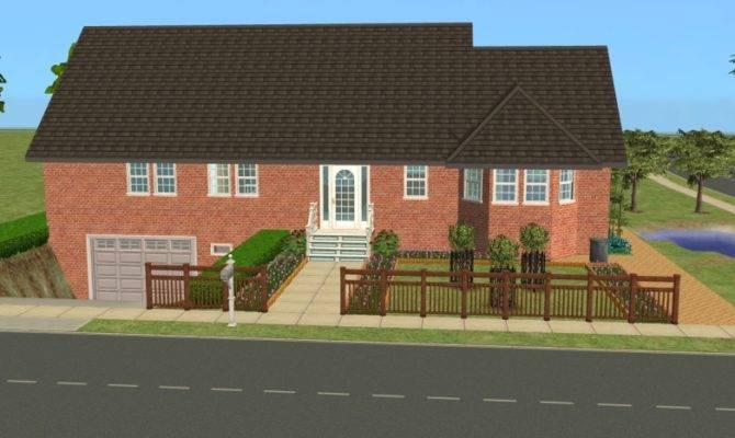 Mod Sims Central Drive House Basement Garage
