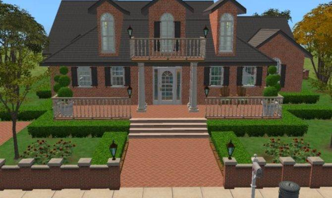 Mod Sims Colonial Classical Charm Fully Furnished