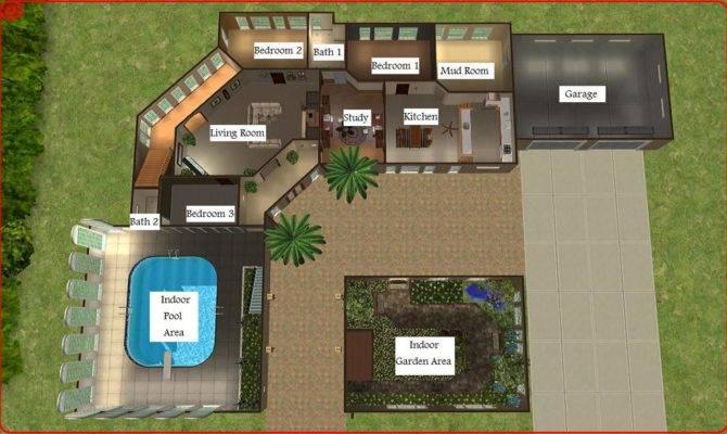 Mod Sims Dreamy Mansion