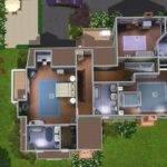 Mod Sims Emerald House