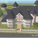 Mod Sims Engelvilla Big Villa Your Wealthy