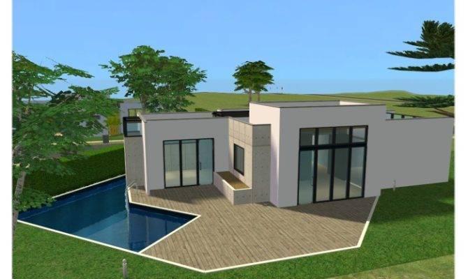 Mod Sims Eon Modern House