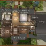 Mod Sims Lake House Potter Grove Collection